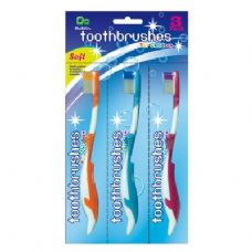 48 Units of 3PK Kids Toothbrushes