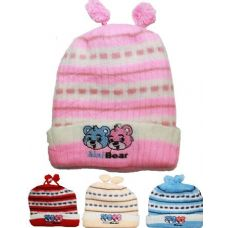 72 Units of ANIMAL KID WINTER HAT - Junior / Kids Winter Hats