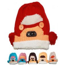 72 Units of KID'S WINTER HAT - CAR DESIGN - Junior / Kids Winter Hats
