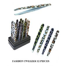 24 Units of FASHION TWEEZER SET - Cosmetics