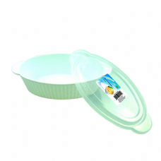 48 Units of Oval Container With Lid 53oz