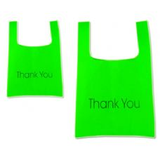 "288 Units of SH0PPING BAG 45X55CM GREEN CLR17.7""X21.7"" - Bags Of All Types"