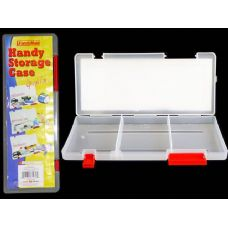 72 Units of CLEAR PLASTIC HANDY STORAGE CASE - Plastic Items