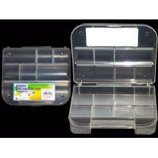 72 Units of  CLEAR PLASTIC ORGANIZER CASE - Plastic Items