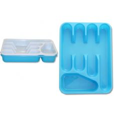 48 Units of 5 section plastic tray - Plastic Serving Ware