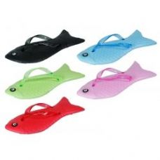 60 Units of Girls Fish Flip Flops - Girls Flip Flops