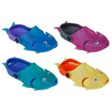 60 Units of Kids Fish Clog's - Kids Aqua Shoes