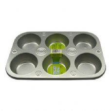 36 Units of 6-Cup Muffin Pan - Baking Supplies