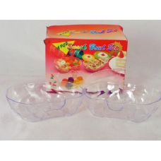 72 Units of bowl set pumpkin design - PLASTIC ITEMS