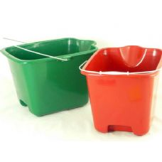 24 Units of 2 buckets w/handle - PLASTIC ITEMS