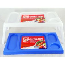 36 Units of 2 plastic serving trays - PLASTIC ITEMS
