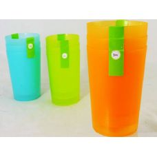 24 Units of 3pc asst tumblers - Plastic Drinkware