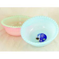 48 Units of 3 asst round plastic basins - Strainers & Funnels