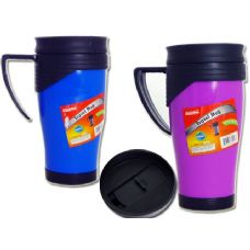 48 Units of mug w/spill proof lid - Coffee Mugs
