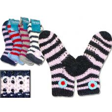 144 Units of SOCK WINTER 1PK 9X28CM ASST CL