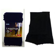 288 Units of LEGGINGS 90% 79CM BLACK CLR - Womens Pants