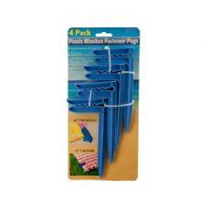 36 Units of Wholesale 4 pack picnic blank fastener pegs - Closeouts