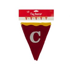 72 Units of Wholesale 6 ft big top celebrate felt flag banner