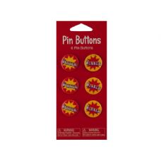 72 Units of Wholesale 6 pack bigtop winner favor buttons