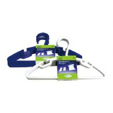 48 Units of 8 Pack Childrens Hangers - Hangers