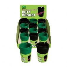 48 Units of Butt Bucket 12PC Inner Box PDQ - Ashtrays(Plastic/Glass)