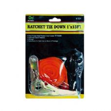 "48 Units of Ratchet Tie Down 1""x15FT - Ratchets"