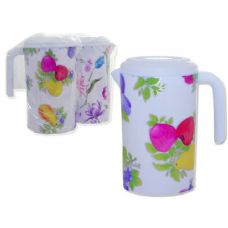 48 Units of water pitcher 4 designs - Plastic Drinkware