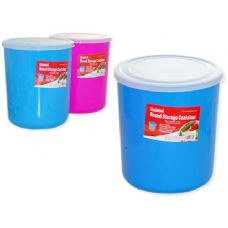 72 Units of round storage container