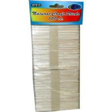96 Units of Craft Sticks 100pcs - Craft Wood Sticks and Dowels