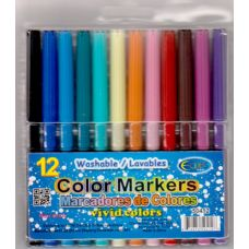 96 Units of  Water color Markers 12ct  (2 inners of 24) - Markers and Highlighters
