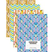 48 Units of Composition NoteBook- Fashion Design Cover - Notebooks