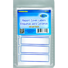 96 Units of Report Cover Labels, 48 Ct. - Labels ,Cards and Index Cards