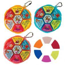 72 Units of Scent-sibles Doo Wop Eraser Wheel - Erasers