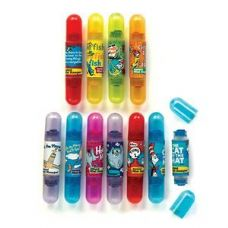 192 Units of Dr Seuss Double-Sided Scented Mini Stamper - Markers and Highlighters