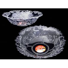 48 Units of crystal like round clear bowl - Plastic Serving Ware