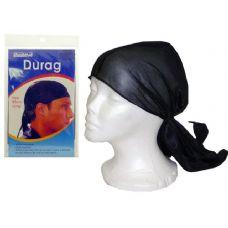 288 Units of Durag Black - Head Wraps