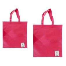 "300 Units of SH0PPING BAG 14.2X17"" PINK - Bags Of All Types"