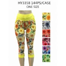 72 Units of Ladies Fashion Leggings - Womens Shorts