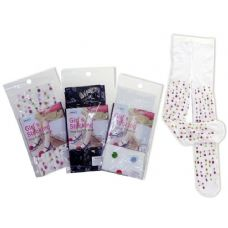 288 Units of STOCKING GIRL'S ONE SIZE3ASST DESIGN - Childrens Tights