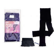 288 Units of LEGGING WOMEN'S 20D BLACK FULL LENGTH - Womens Pants