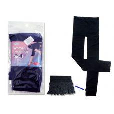 288 Units of LEGGING WOMEN'S 70% W/LACE BK - Womens Pants