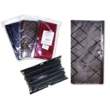 144 Units of WALLET LADY'S 3 SEATION 3ASSTBLACK,BROWN,GREY CLR