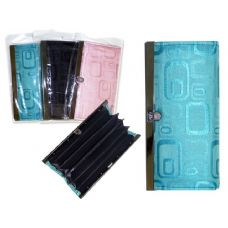 144 Units of WALLET LADY'S 3 SEATION 3ASSTBLACK,BLUE,PINK CLR - Wallets & Handbags