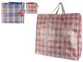 72 Units of Plaid Shopping Bag - Bags Of All Types