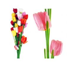 144 Units of FLOWER  97CM LONG TULIP 4HEADS - Artificial Flowers
