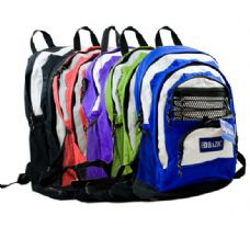 20 Units of 17 Inches Olympus Multicolor Backpack - Backpacks 17""