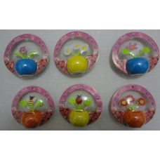 60 Units of Small Solar Flowers/Bugs [Bubble Pack] - Garden Decor