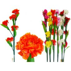 144 Units of SUNFLOWER 5HEADS 5ASST CLR - Artificial Flowers