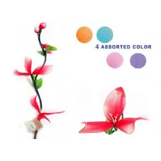 144 Units of FLOWER DECORATIVE 1.1M 6ASST CLR PACKING: - Artificial Flowers
