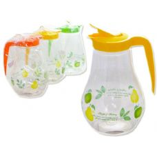48 Units of printed pitcher - Plastic Drinkware